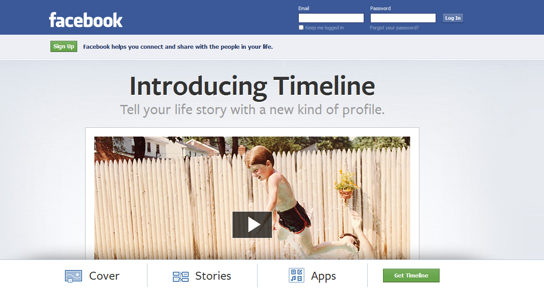 fitur baruFacebook berupa Facebook Timeline . Disini Facebook